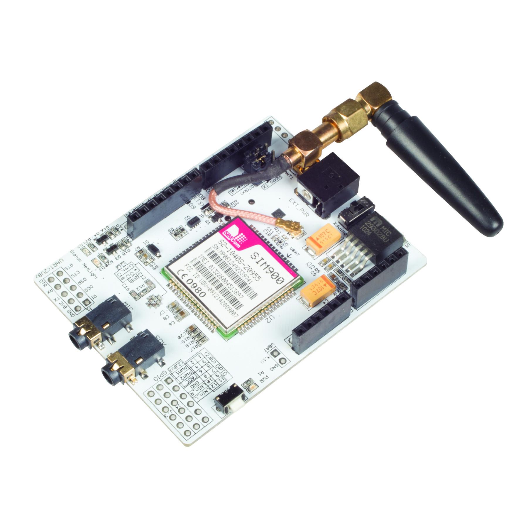 Quad band sim gprs gsm shield board for arduino new