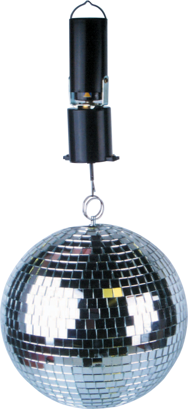 Dj Disco Party Mirror Ball Light Battery Operated Motor Ebay