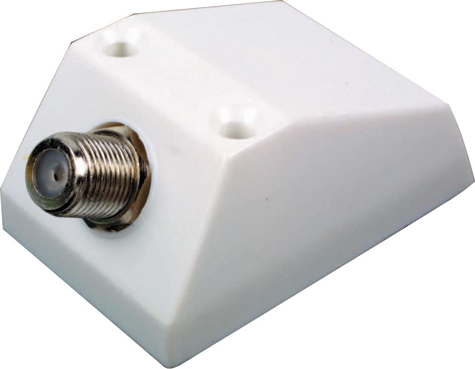 tv aerial satellite f outlet socket box surface mount. Black Bedroom Furniture Sets. Home Design Ideas