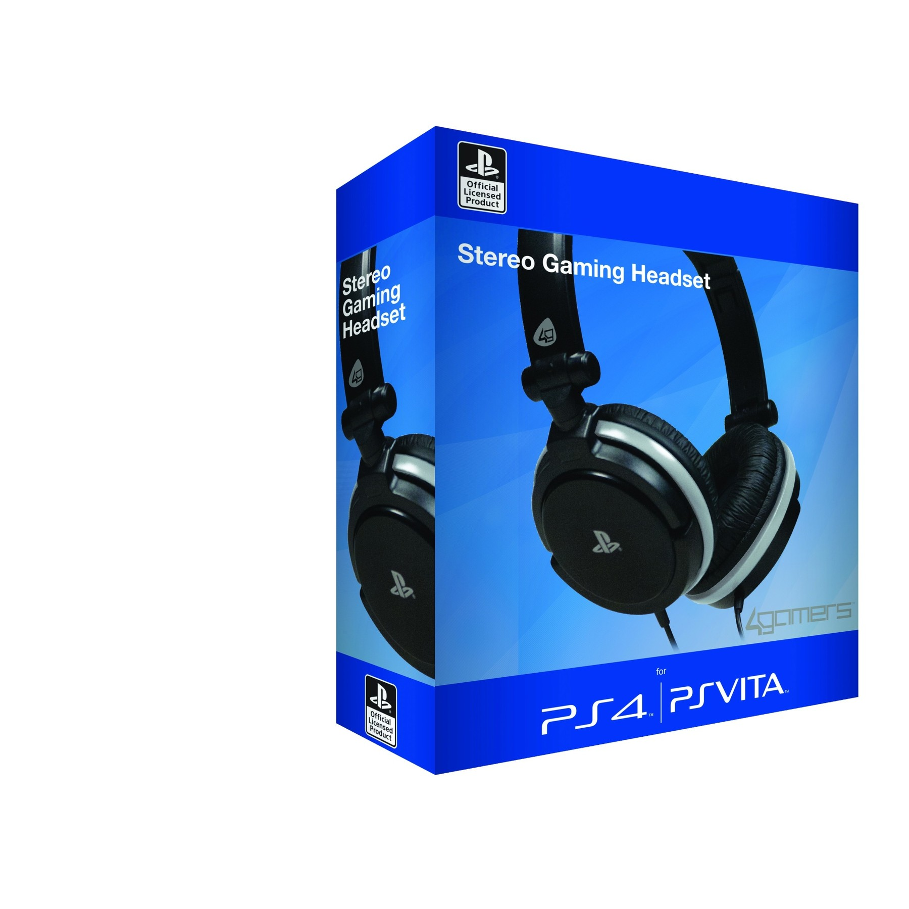 officially licensed stereo gaming headset starter kit for sony playstation 4 ps4 ebay