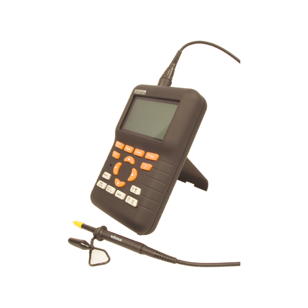 Portable Digital Oscilloscope : Mhz portable handheld sampling oscilloscope pocket size