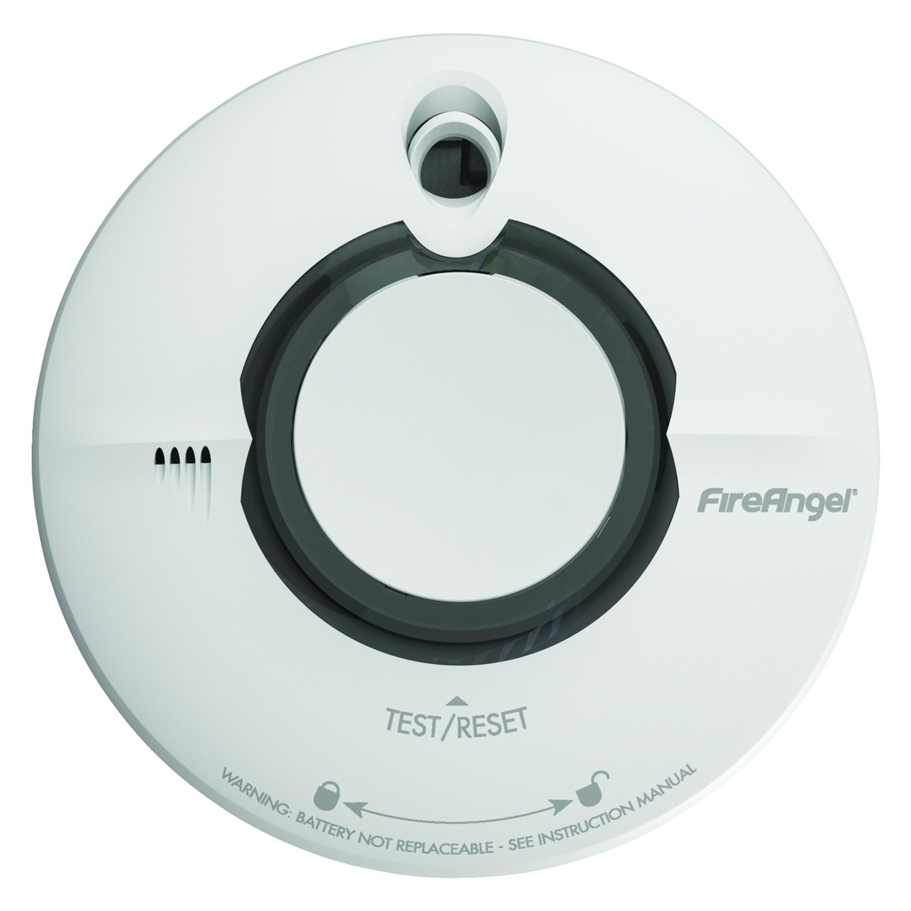 fireangel wst 630 wireless interlink smoke alarm 10 year life ebay. Black Bedroom Furniture Sets. Home Design Ideas