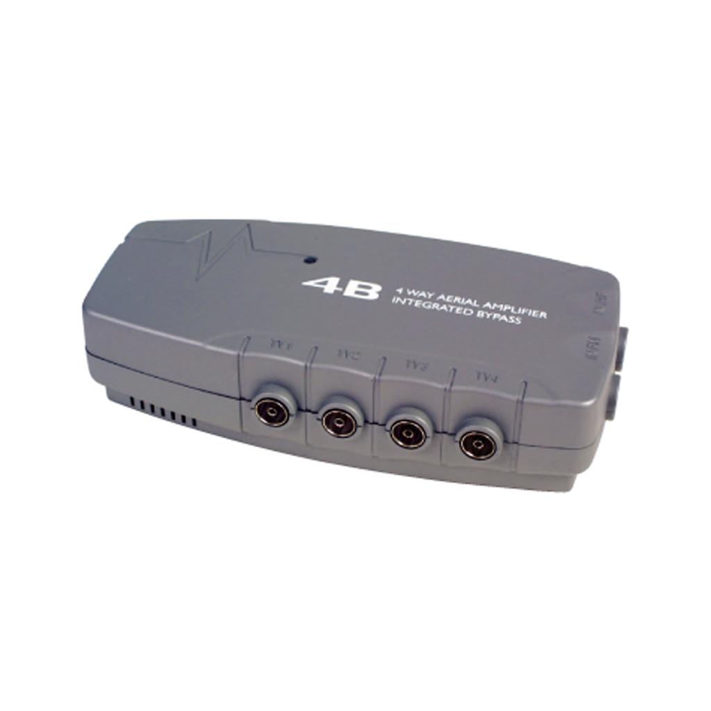 Tv Signal Amplifier : Slx way tv aerial signal amplifier booster splitter ebay