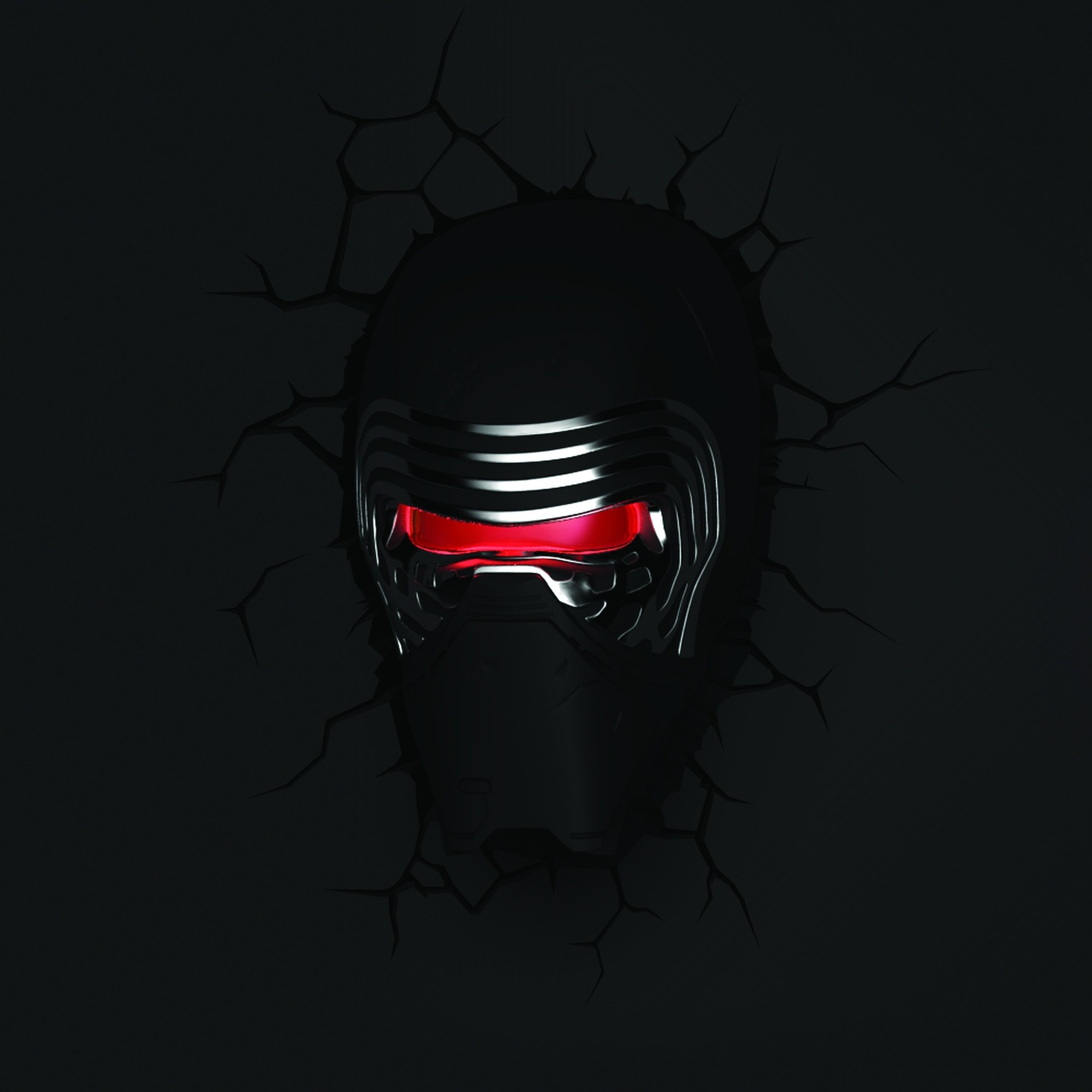 Wall Mounted Night Lights : Star Wars 3D Deco LED Night Light FX Battery Powered Wall Mounted Kylo Ren eBay