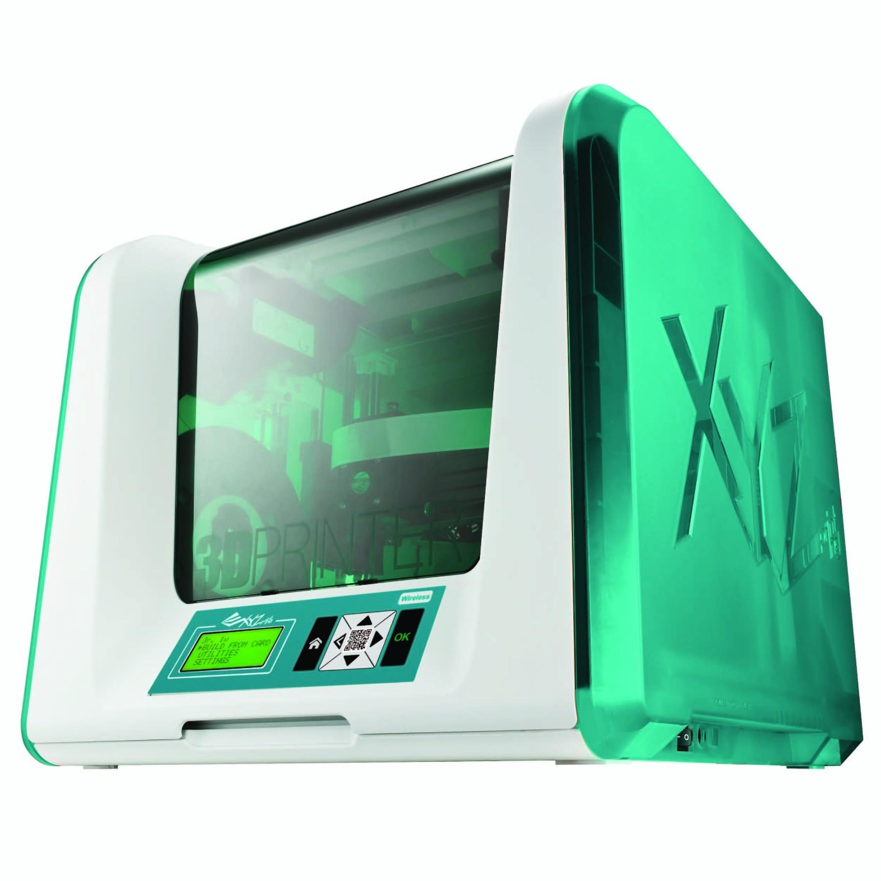 XYZ Printing 3F1JWXEU00D Da Vinci Junior 1.0w 3D Printer