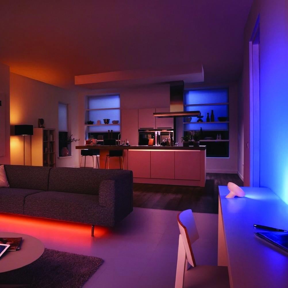 philips hue wireless lighting colour chaning bloom led smart mood light lamp. Black Bedroom Furniture Sets. Home Design Ideas