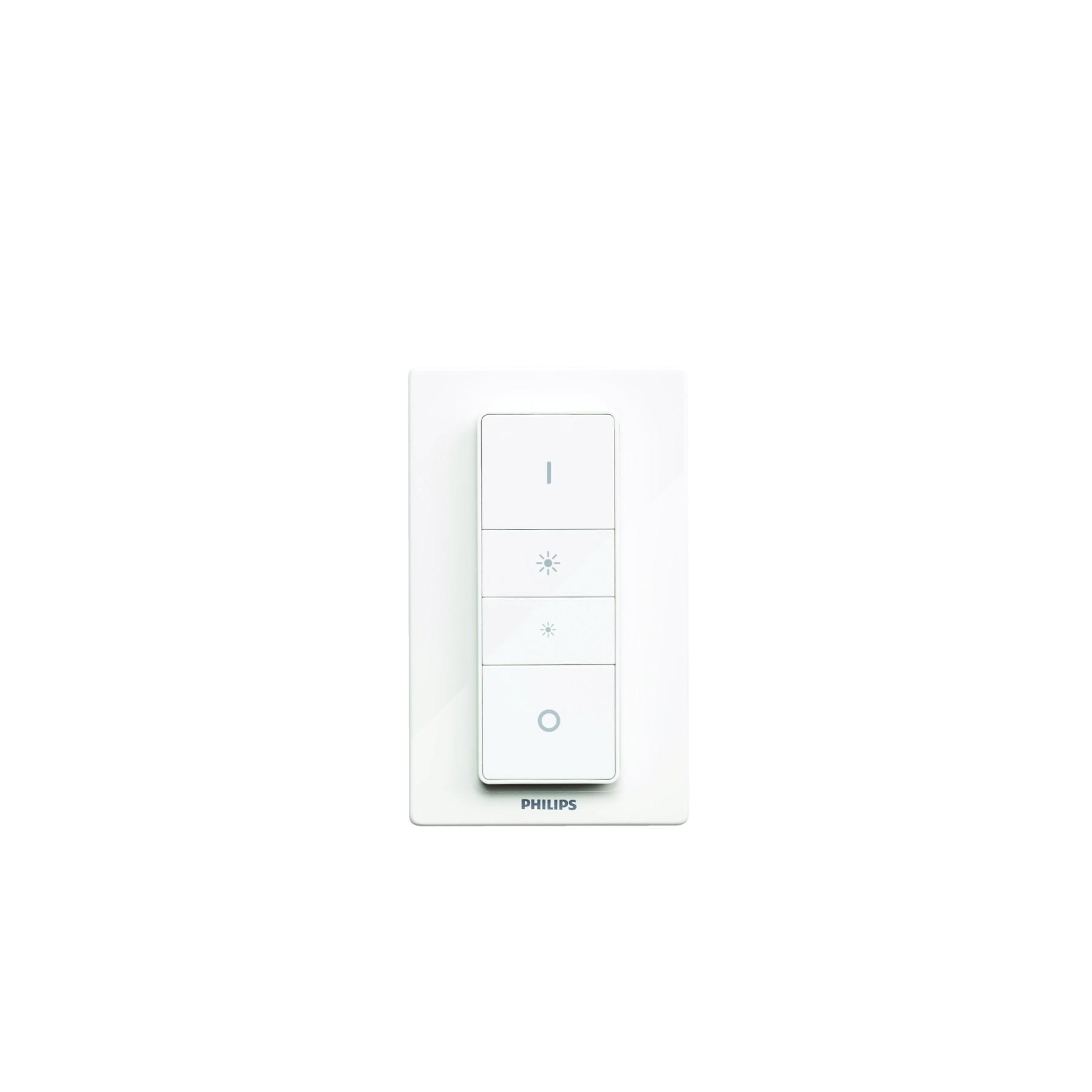 philips hue led smart light bulb and dimmer switch home. Black Bedroom Furniture Sets. Home Design Ideas