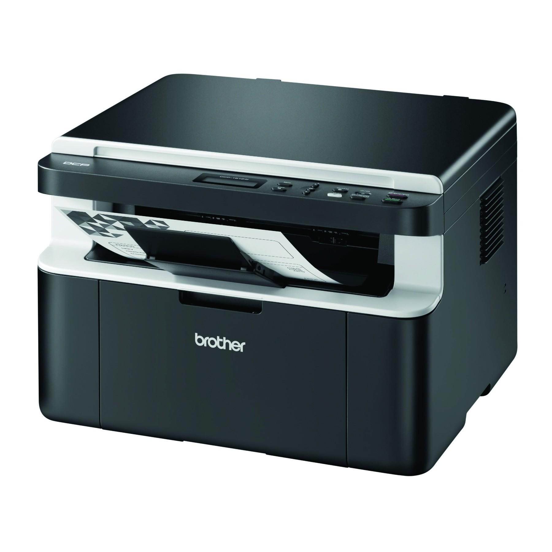 brother dcp 1612w 3 in 1 a4 mono laser wireless printer copy scan ebay. Black Bedroom Furniture Sets. Home Design Ideas