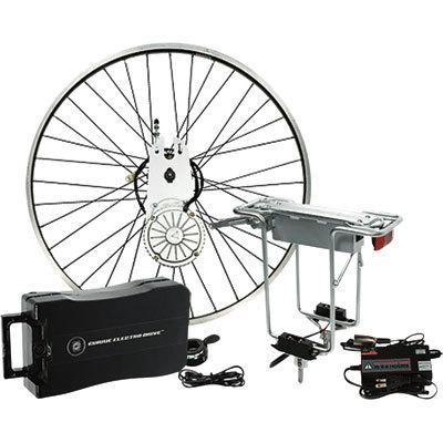 IZIP ELECTRIC BIKE 26'' WHEEL CYCLE CONVERSION KIT NEW Enlarged Preview