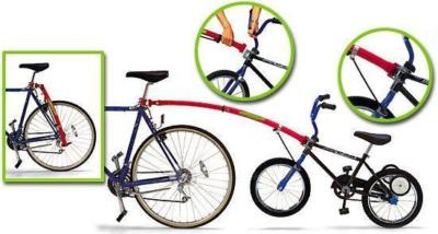 NEW TRAIL GATOR TRAILGATOR KIDS CYCLE BIKE TOW BAR  Enlarged Preview