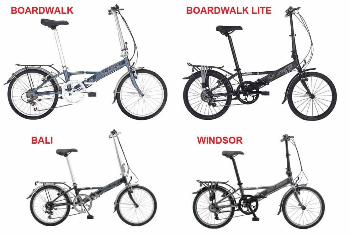 Raleigh Boardwalk Lite Alloy Lightweight Folding Bike Ebay