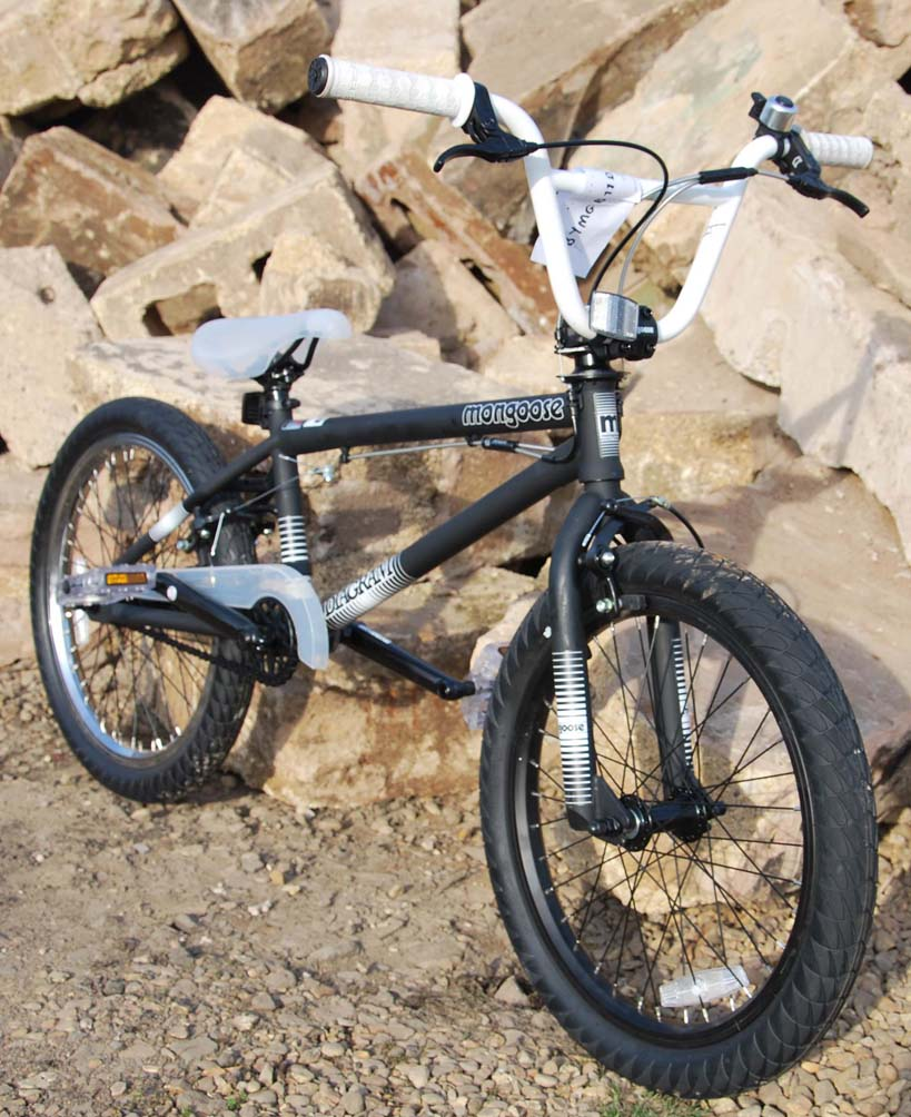 Mongoose Diagram Matte Black 2011 BMX Bike RETURNS Enlarged Preview