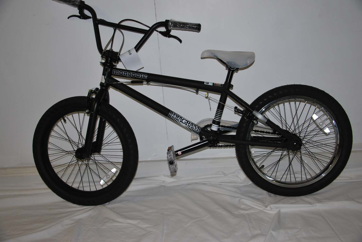 Mongoose-Diagram-Matte-Black-2011-BMX-Bike-RETURNS