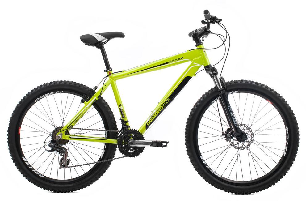 DIAMONDBACK OVERDRIVE FRONT DISC BRAKE GREEN MOUNTAIN BIKE NEW RRP £269.99 Enlarged Preview