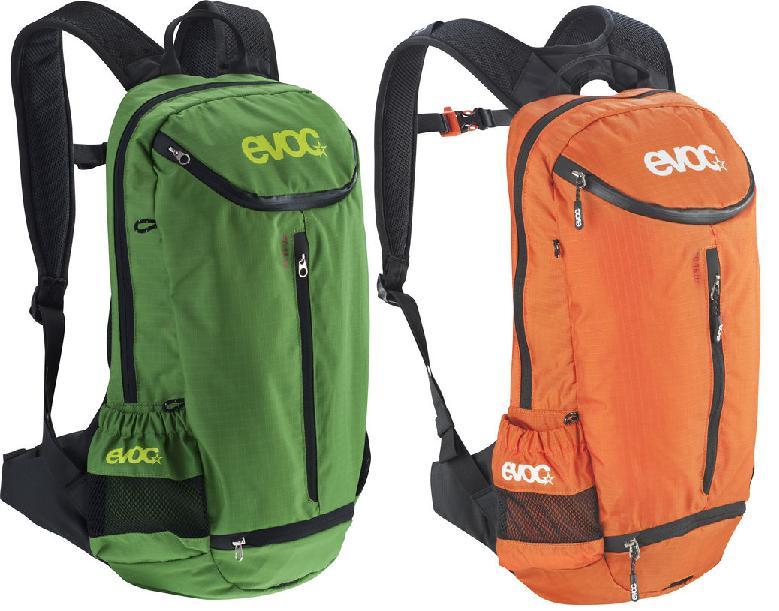 EVOC CC 16L CYCLING BACKPACK CHOOSE FROM GREEN / ORANGE