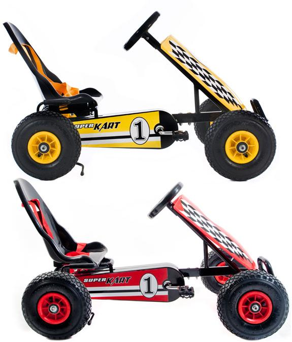 RALEIGH-KIDS-PEDAL-GO-KART-YELLOW-OR-RED-AGE-3-UP