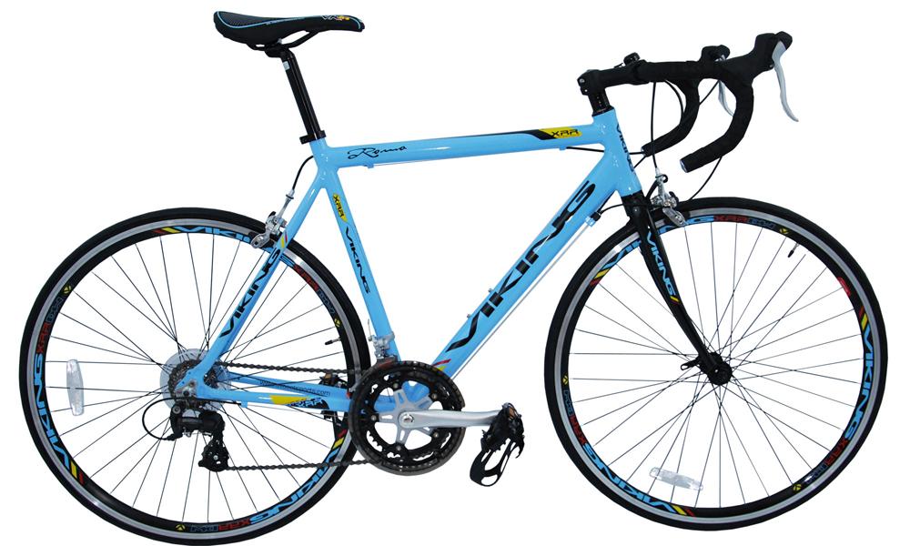 Viking Roma Gents Mens Road Racing Bike Blue 16 Speed Shimano Rrp