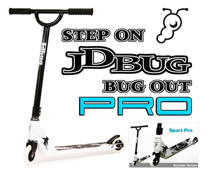 JD BUG SCOOTER MS108 PRO SPORT FIXED STREET TRICK JUMP SCOOTER HEAVY DUTY Enlarged Preview