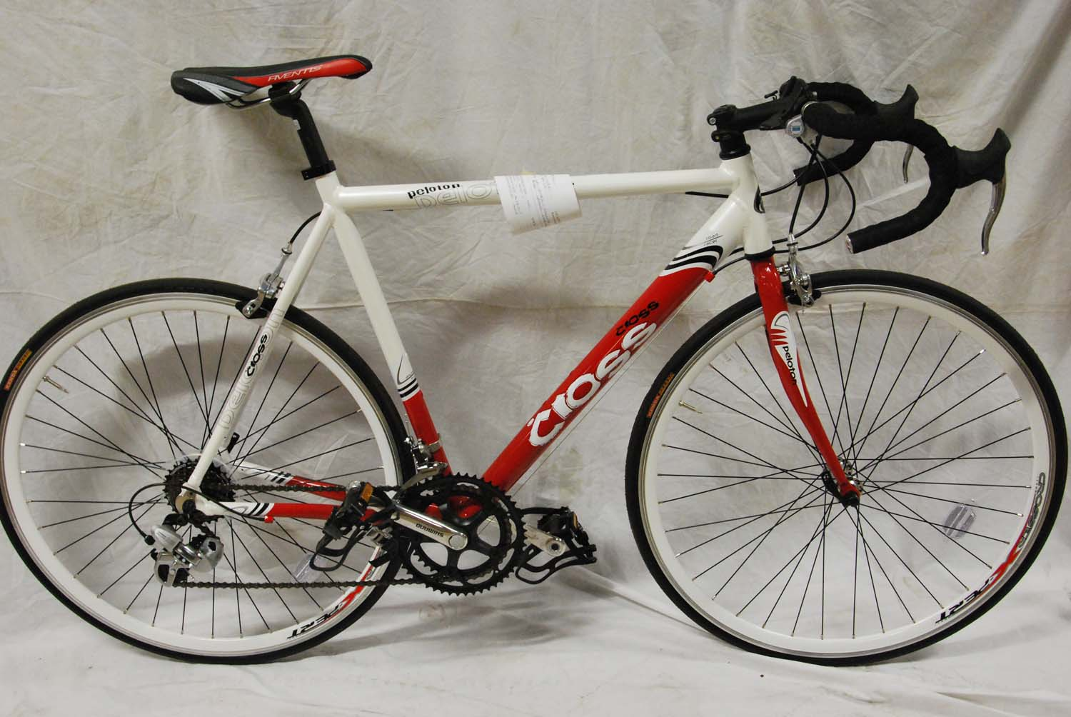CROSS PELOTON ALUMINIUM ROAD RACE BIKE SCRATCHED 59CM Enlarged Preview