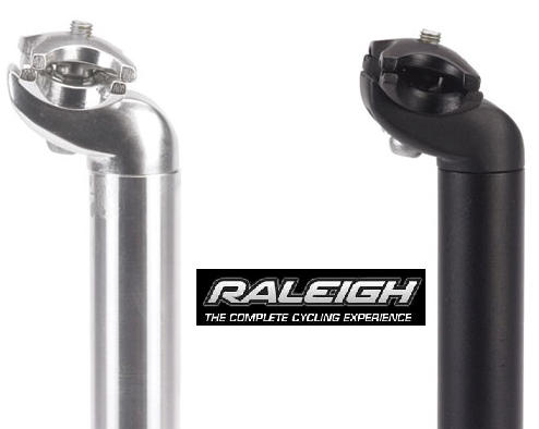 RALEIGH MICRO ADJUSTABLE QUALITY MTB SEATPOST ALL SIZES Enlarged Preview