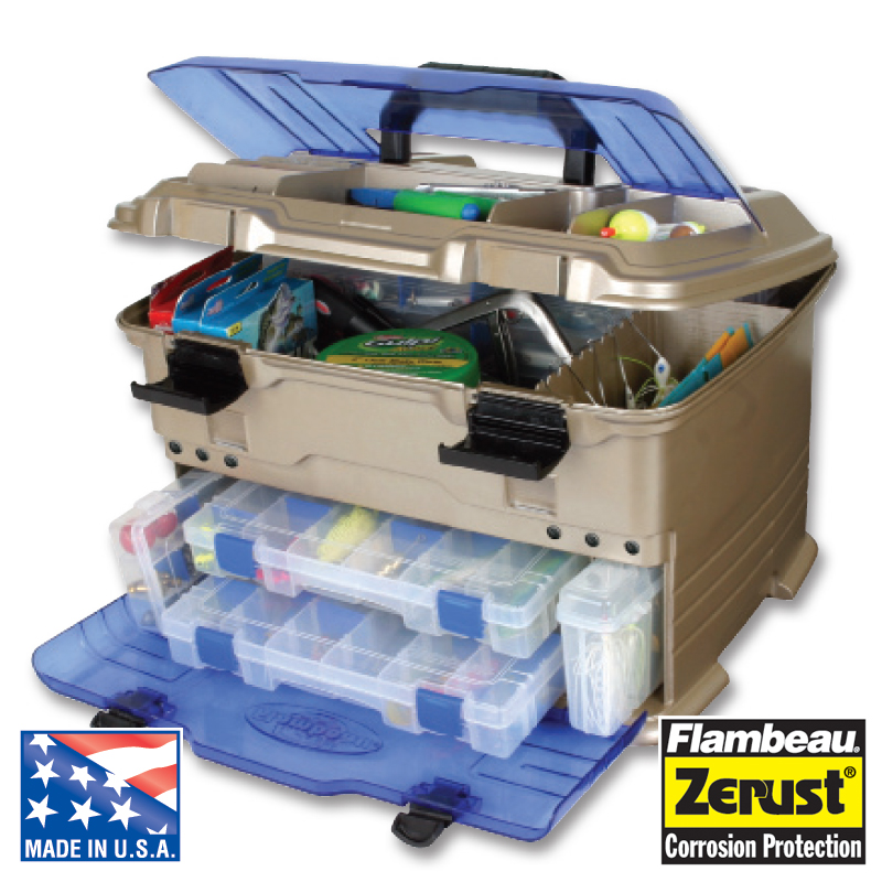 FLAMBEAU T5 PRO MULTILOADER FISHING TACKLE STORAGE BOX Enlarged Preview