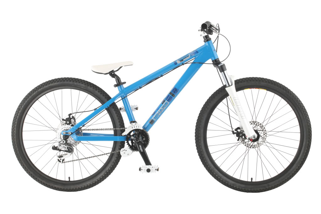 2011 HARO THREAD COMP SMURFY BLUE 4X DIRT JUMP MOUNTAIN BIKE RRP £729.99 Enlarged Preview