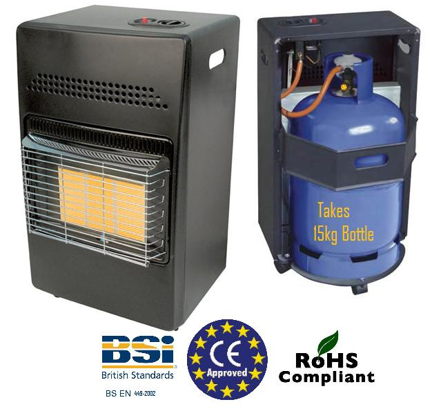 PORTABLE GARAGE WORKSHOP SHED GREENHOUSE GAS HEATER 4.2KW ...