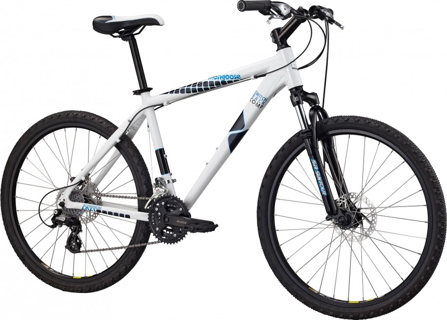 Mongoose Switchback Comp Disc White Mens Mountain Bike 2011 Brand New Enlarged Preview