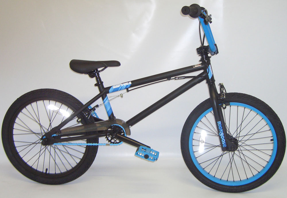 MONGOOSE CAPTURE BMX BIKE BLACK CUSTOMER RETURN Enlarged Preview