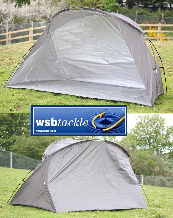 Small Fishing Shelters : Large angling shelter fishing bivvy tent carp