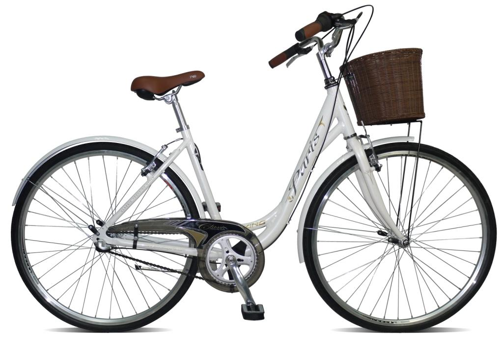 2012 VIKING PARIS LADIES WOMENS THREE SPEED TRADITIONAL HYBRID BIKE RRP £299 Enlarged Preview