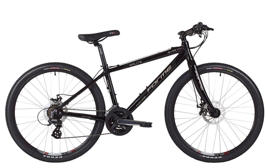 FORME BRUTE MENS URBAN HYBRID COMMUTER BIKE MATTE BLACK RRP £399.99 Enlarged Preview