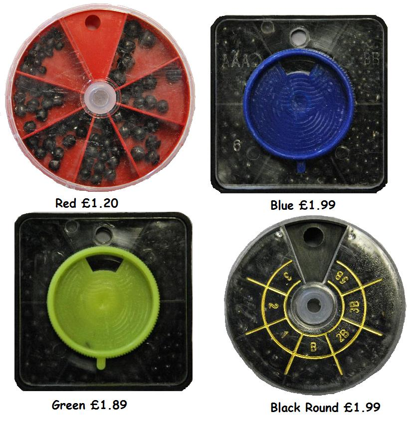 FISHING-SHOT-NON-TOXIC-SPLIT-SHOT-CHOOSE-FROM-4-OPTIONS-LINE-WEIGHTS
