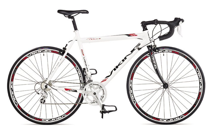 2012 VIKING TORINO MENS ROAD RACING BIKE RRP £599.99 CARBON FIBRE FORK SHIMANO Enlarged Preview