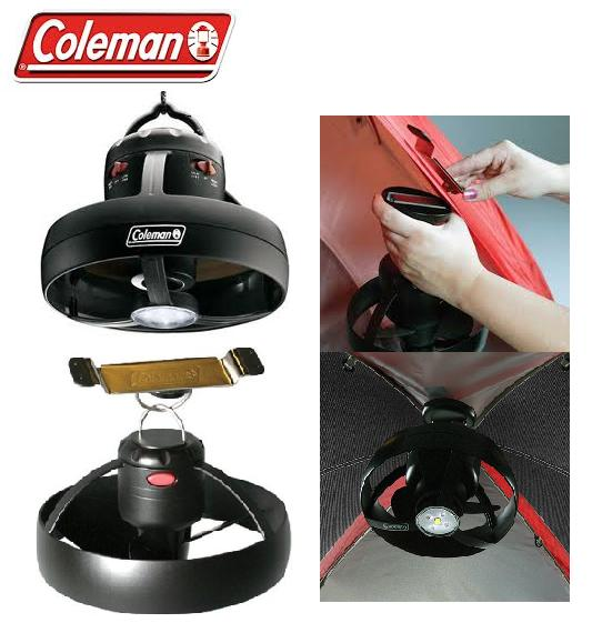 COLEMAN COOL TENT BIVVY FAN & LED LIGHT CAMPING FISHING & MAGNETIC ...