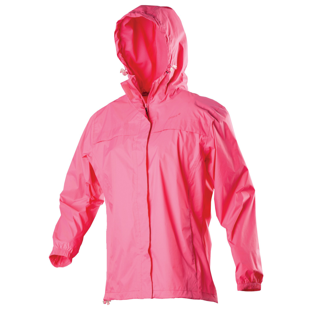 GELERT GIRLS RAINPOD SCHOOL PACKAWAY WATERPROOF HOODED JACKET COAT ...