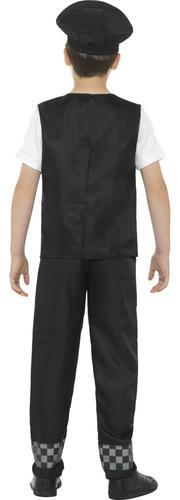 Cop Handcuffs Boys Fancy Dress Policeman Officer Uniform Kids Childs Costume