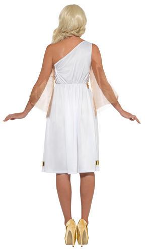 Grecian Ladies Fancy Dress Ancient Roman Greek Venus Womens Adult Costume Outfit