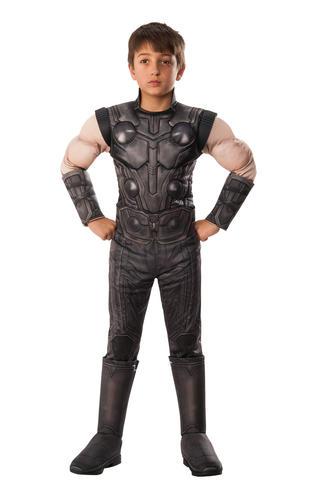 Deluxe Avengers Infinity Wars Boys Fancy Dress Superhero Kids Book Day Costumes
