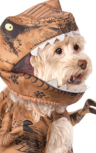 T-Rex Pet Fancy Dress Jurassic World Dinosaur Dog Halloween Costume Outfit