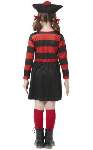 Minnie The Mix Girls Fancy Dress Hermione Dennis Menace Kids Beano Comic Costume