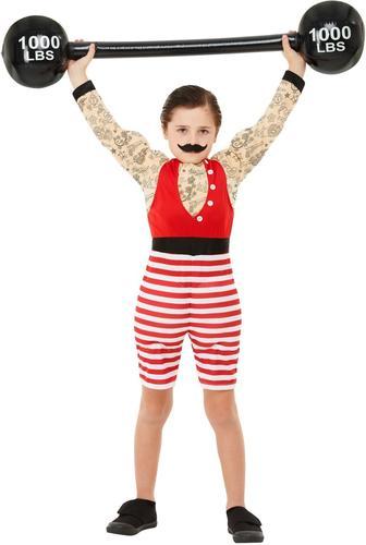 Deluxe Bambino Forte Bambini Costume Body Builder Ragazzi Costume Circo Vestito Da Bambino