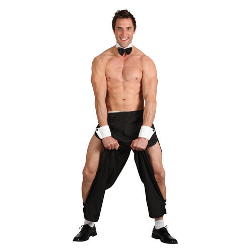 Party Boy Stripper Men/'s Fancy Dress Stag Hen Party Play Boy Fun Uniform Costume