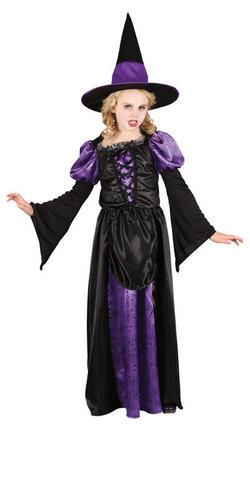 Girls-Scary-Witch-Halloween-Fancy-Dress-Spooky-Kids-  sc 1 st  eBay & Girls Scary Witch Halloween Fancy Dress Spooky Kids Childrens ...