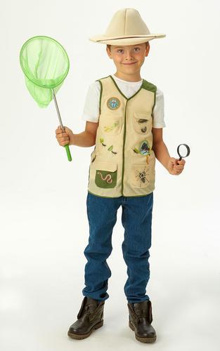 BUG INSECTE EXPLORER Kids Fancy Dress World Book Day Kids Childs Uniforme Costume