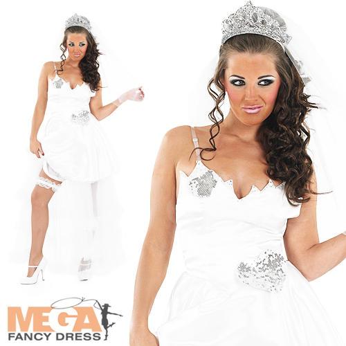 Big-Fat-Gypsy-Bride-White-Wedding-Fancy-Dress-Ladies-Hen-Party-Womens-Costume
