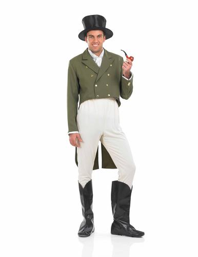 Regency-Gent-Victorian-Mens-Fancy-Dress-Adults-Mr-Darcy-Costume-Boot-Covers
