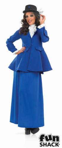 Victorian-Lady-Fancy-Dress-Ladies-Edwardian-Book-Character-Womens-Adut-Costume