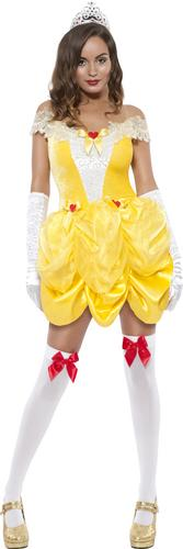 Sexy-Princess-Belle-Beauty-Fancy-Dress-Ladies-Fairytale-Womens-Costume-Outfit