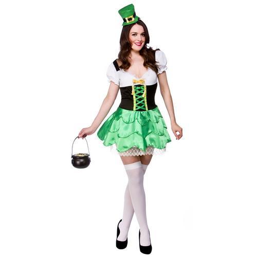 Cheeky-Leprechaun-Ladies-Fancy-Dress-St-Patricks-Day-Adults-Irish-Costume-Hat